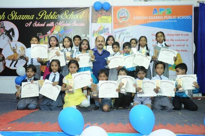 Amresh Sharma Public School-Certification