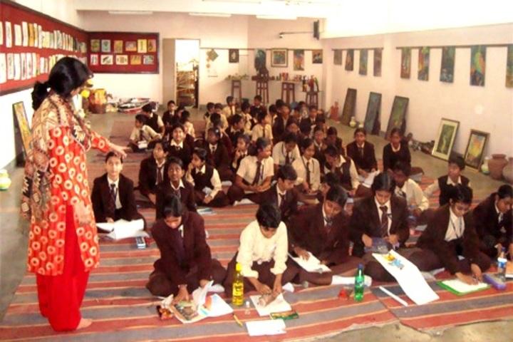 D A V Model School-Arts