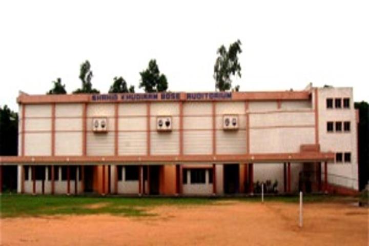 D A V Model School-Campus Building
