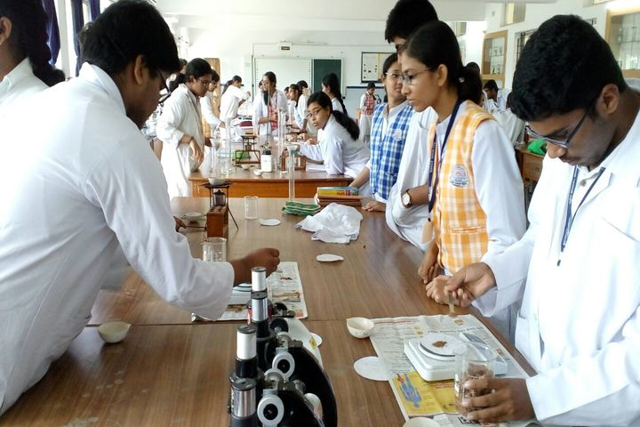 D A V Model School-Biology Lab