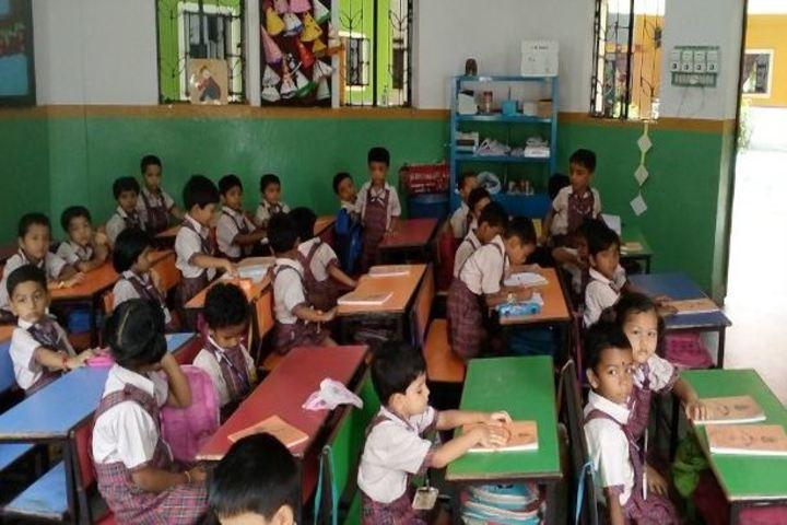 D A V Model School-Classroom