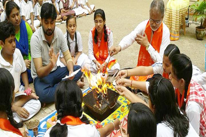 Dav Public School-Pooja