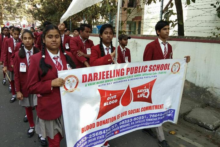 Darjeeling Public School-Blood Camp