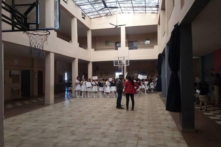 Angel Valley School Bhilai-Basket Ball Court