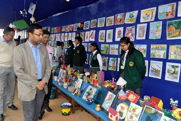 Delhi Public School-Painting Exhibition