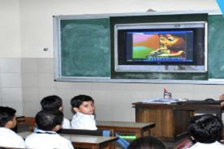 Durgapur Public Institute-Smart Classroom