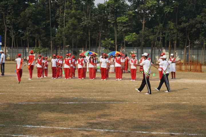 Durgapur Public School-Annual Sports Meet