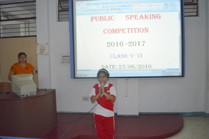 Durgapur Public School-Speaking Compitition