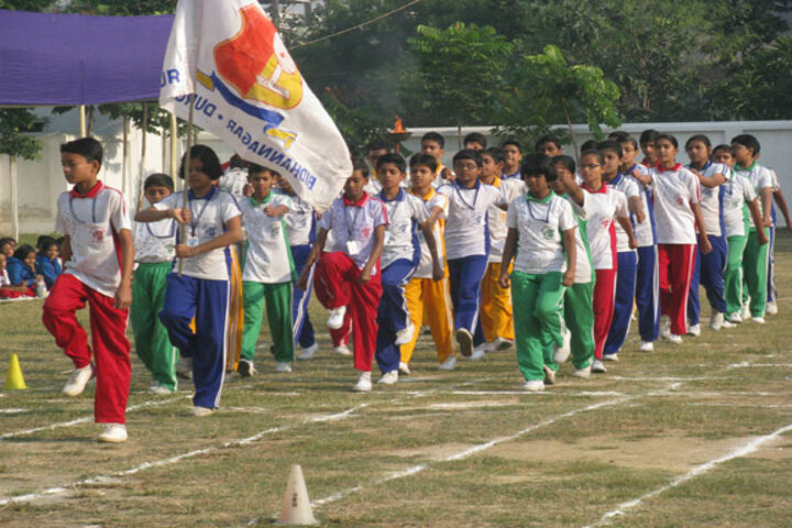 Durgapur Public School-Sports Day