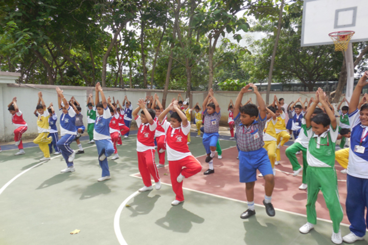Durgapur Public School-Yoga Day