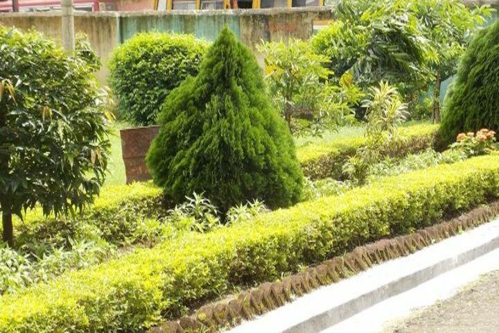 Eastern Railway High School-Garden Area