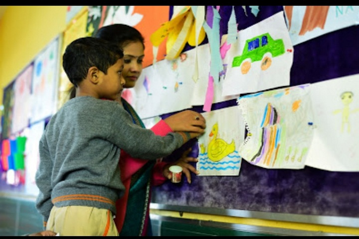 Explore International School-Drawing Competition