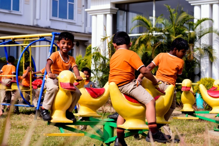 Explore International School-Playing Time
