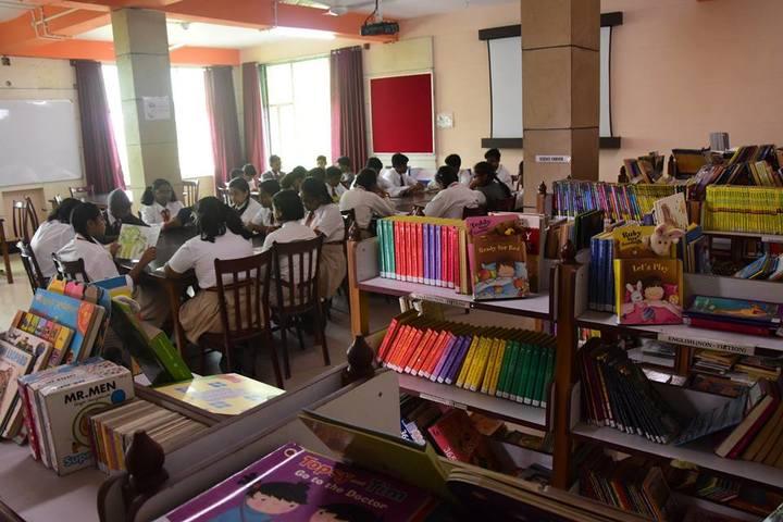 Explore International School-Library