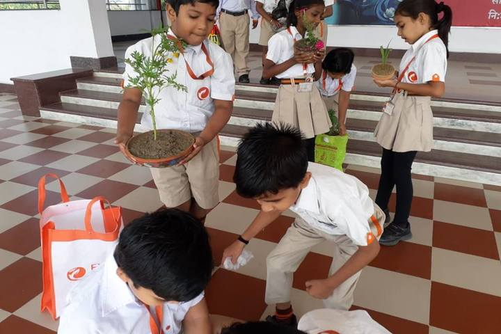 Explore International School-Tree Plantation