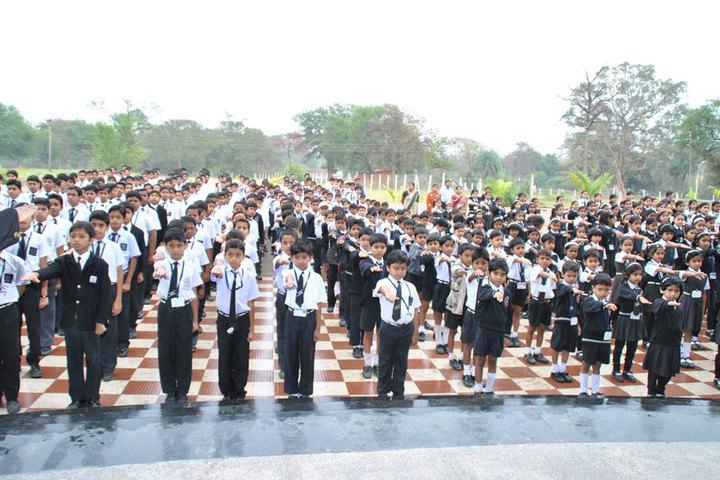 Ashoka Public School-Assembly