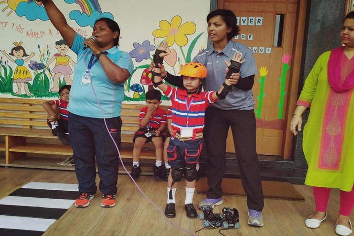 G D Goenka Public School-Skating Activity
