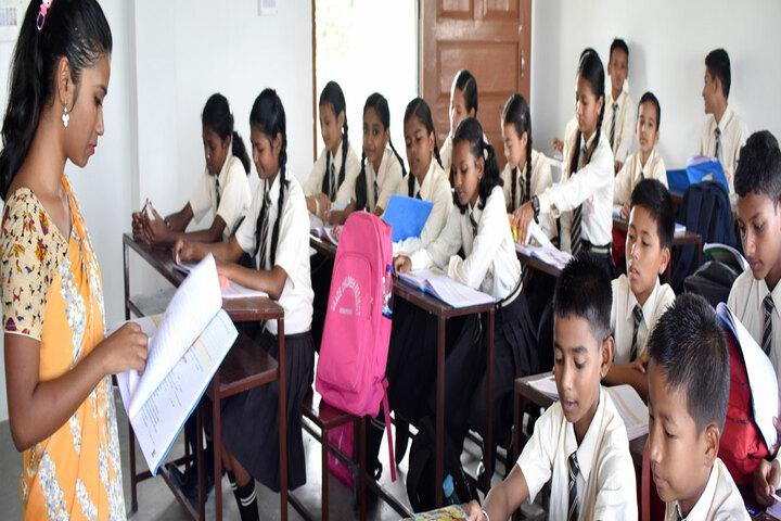Grace English School-Classroom