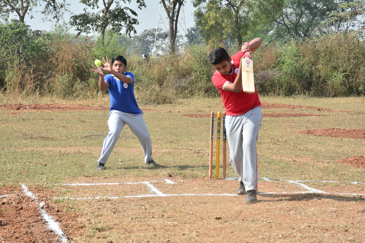 Athena World School-Cricket