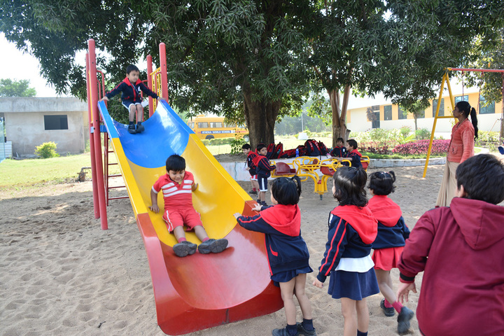 Athena World School-Kids Play Park