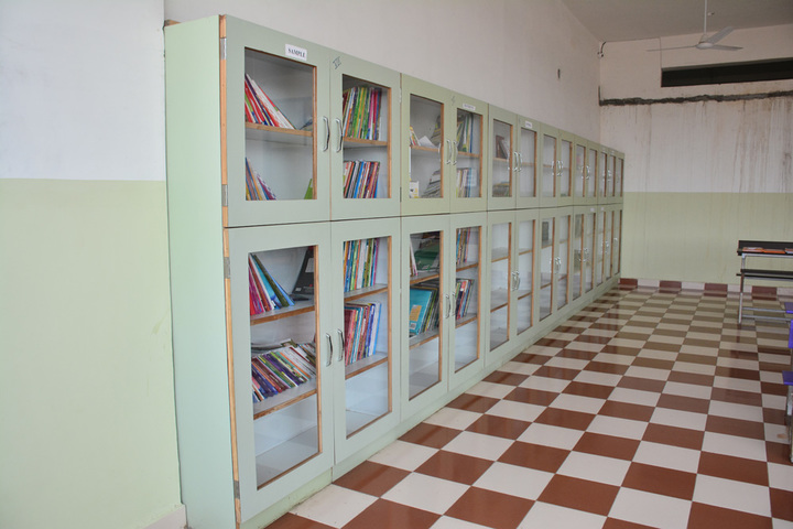 Athena World School-Library