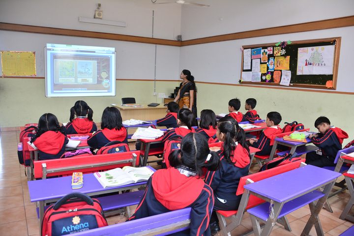 Athena World School-Smart Class