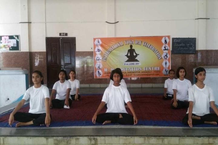 H M Education Centre-Yoga Day