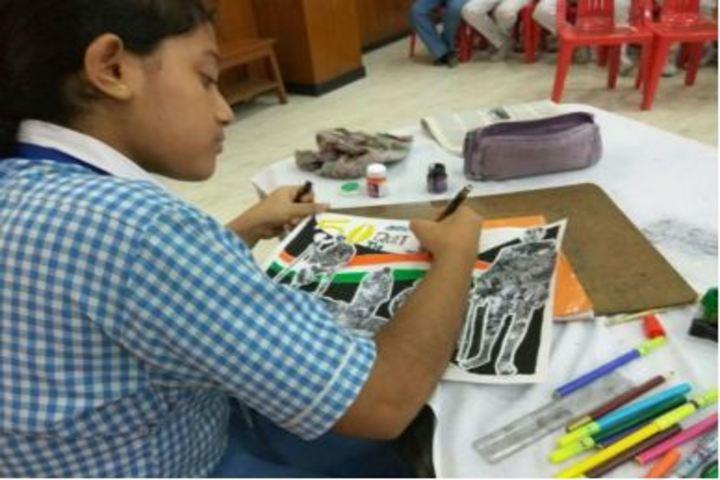 Haryana Vidya Mandir-Drawing Competition