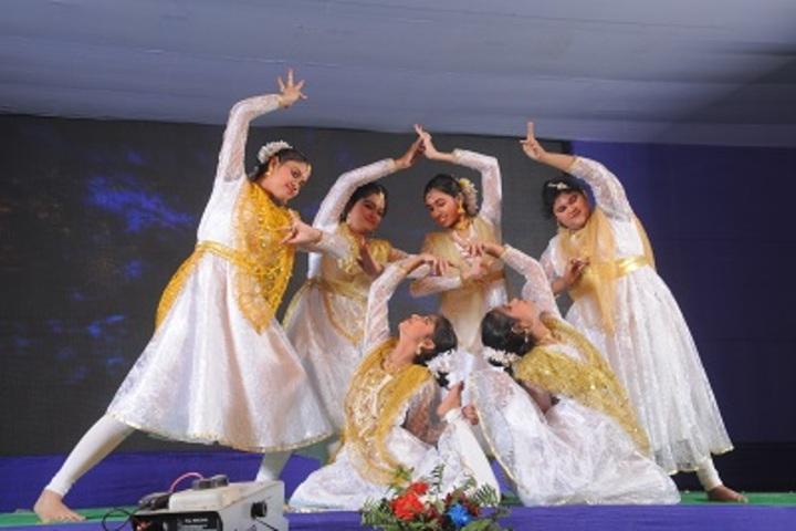 Hem Sheela Model School-Dancing Activity
