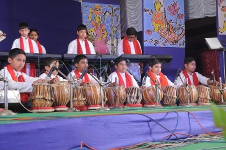 Hem Sheela Model School-Music Activity