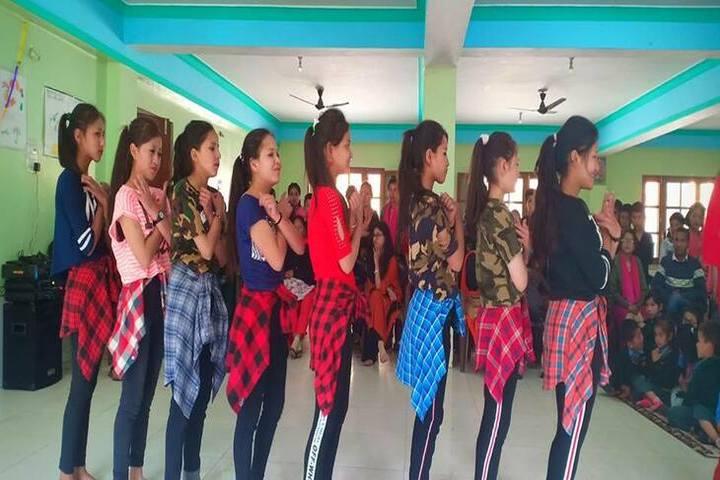 Himalayan Buddhist Cultural School-Dancing Activity