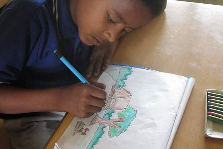 Himalayan Buddhist Cultural School-Drawing Activity