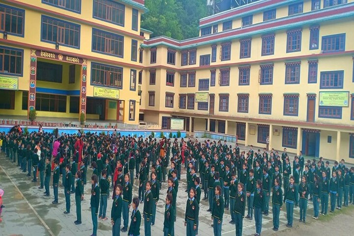 Himalayan Buddhist Cultural School-Morning Assembly