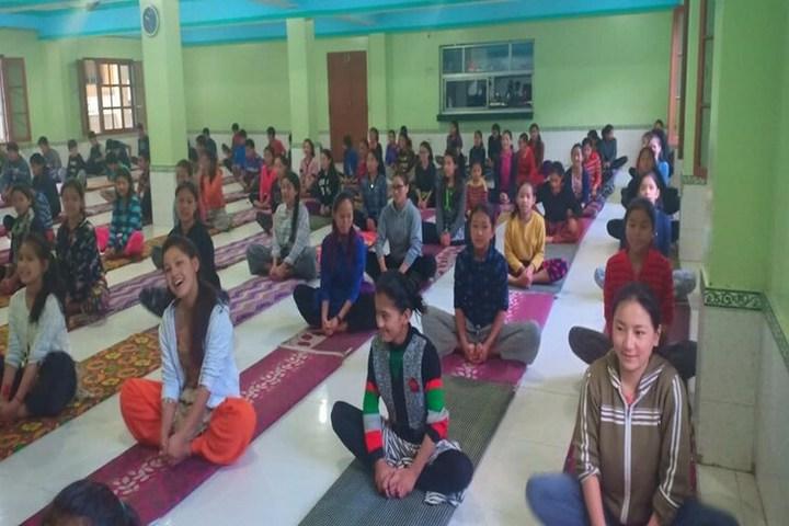 Himalayan Buddhist Cultural School-Yoga Activity