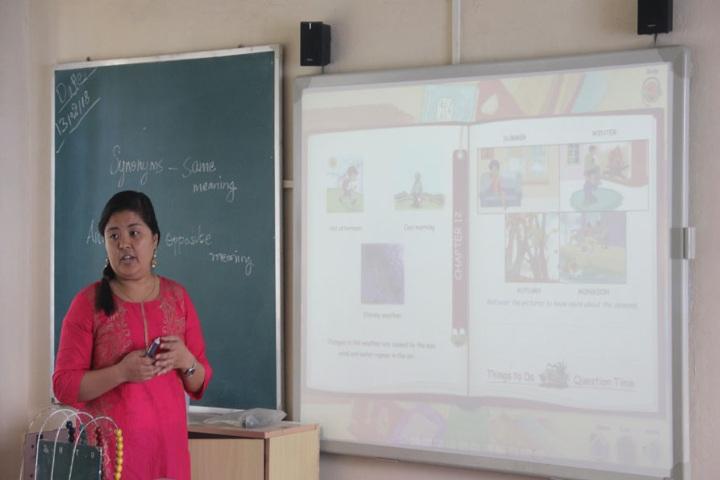 Himalayan International Residential School-Classroom