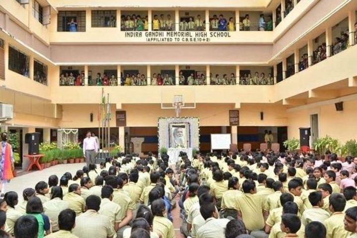 Indira Gandhi Memorial High School-Assemble Ground