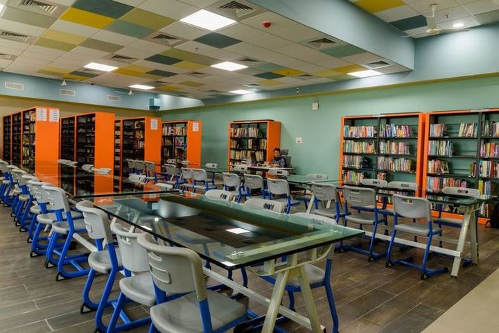 Indus Valley World School-Library
