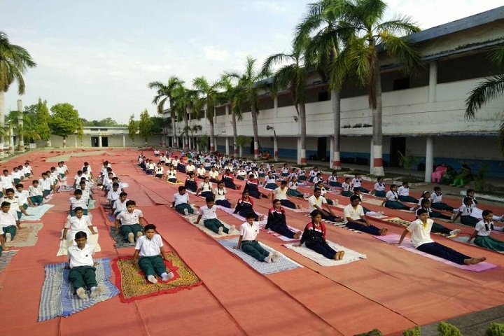 BSP Sec HR School- yoga day celebrations