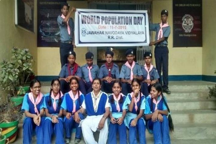 Jawahar Navodaya Vidyalaya-Scout And Guide