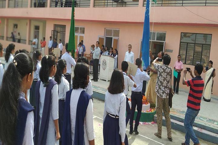 Jawahar Navodaya Vidyalaya-Flag Hoisting