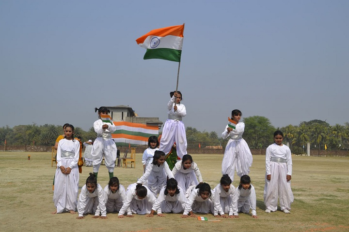 Jyotirmoy Public School-National day celebration