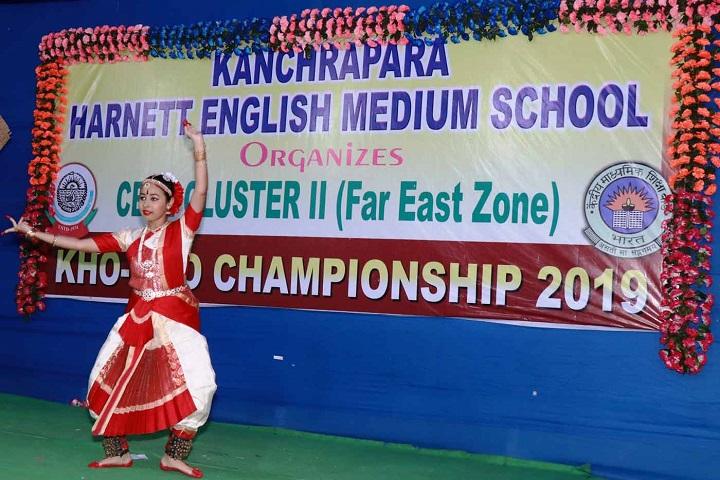 Kanchrapara Harnett English Medium School-Classical Dance