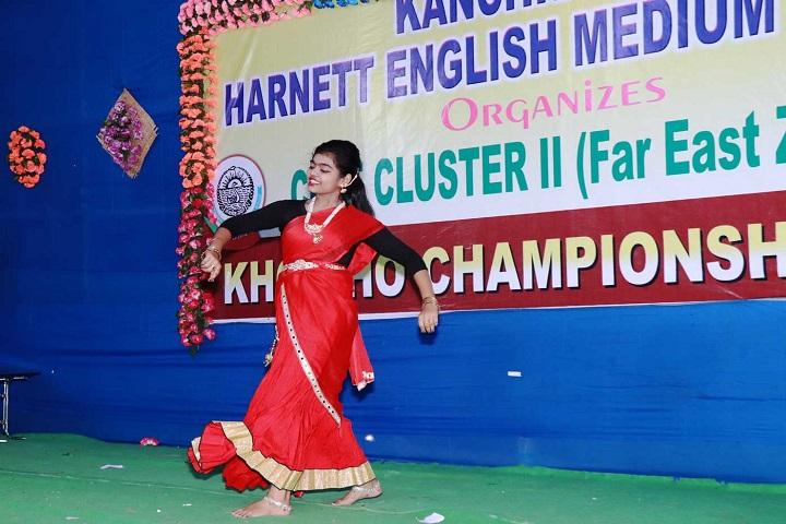 Kanchrapara Harnett English Medium School-Dance