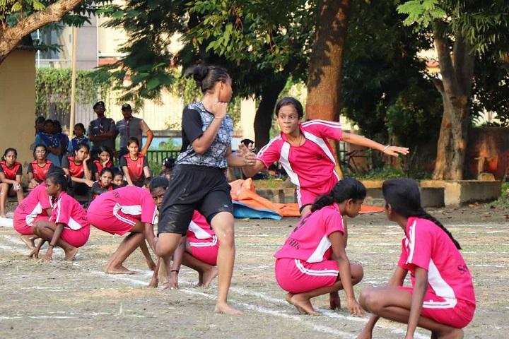 Kanchrapara Harnett English Medium School-Kho-Kho Competition