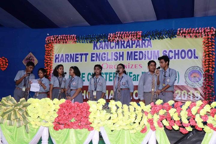 Kanchrapara Harnett English Medium School-Singing