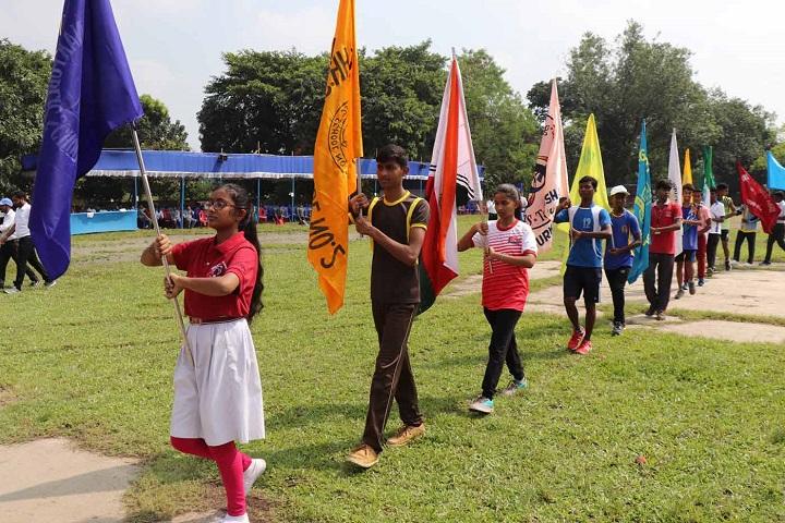 Kanchrapara Harnett English Medium School-Sports Day Celebration