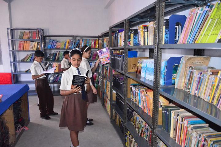 Kashinath Lahiri Public School-Library