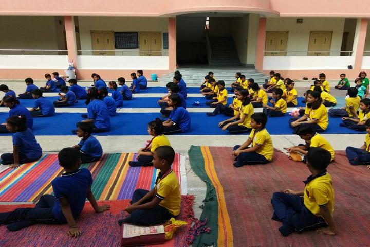 Kendriya Vidyalaya-Yoga Classes