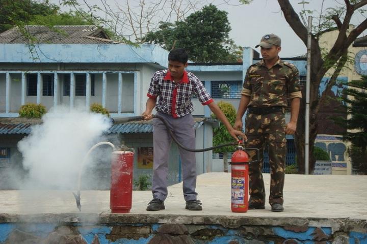 Kendriya Vidyalaya-Fire and safety