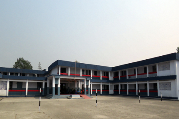 Kendriya Vidyalaya-School assembly ground